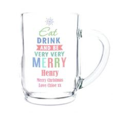 Eat Drink & Be Merry Tankard